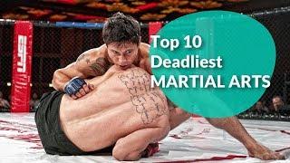 Top 10 Deadliest Martial Arts| Tripaneer