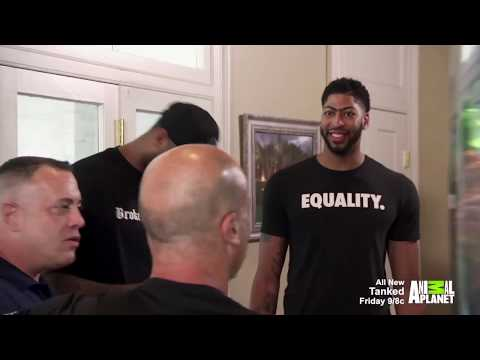 "Pelicans star Anthony Davis on ""Tanked"""