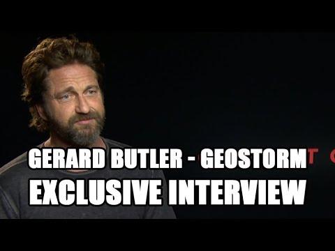 Geostorm - Gerard Butler Exclusive Interview