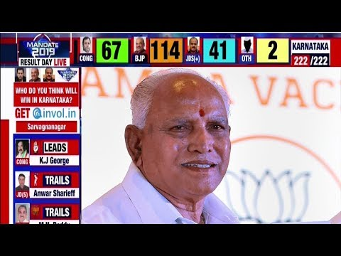 Karnataka assembly election results: BJP gets majority, Congress loses another state