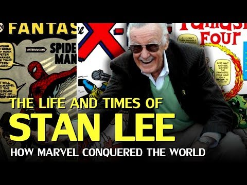 The Life and Times of Stan Lee, and the Rise of Marvel