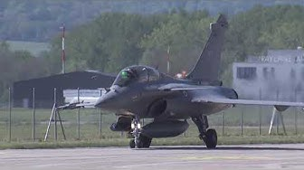 Landung der Rafale von Dassault (High Res)