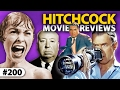 Top 7 ALFRED HITCHCOCK Movies Reviewed! ** THE 200th EPISODE! **