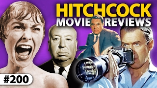 Repeat youtube video Top 7 ALFRED HITCHCOCK Movies Reviewed! ** THE 200th EPISODE! **