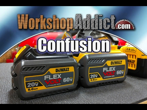 Dewalt Flexvolt 9.0Ah 6.0Ah Vs 20 Volt Max 5.0Ah 2.0Ah Vs 40 Volt - How Dewalt Batteries Size Up