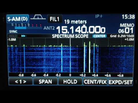 Radio Havana Cuba DXers Unlimited Oct 10 2017 on 15140Khz Shortwave Radio R8600