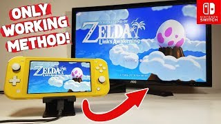 HOW TO Dock Nintendo Switch Lite to ANY TV *EASY DIY SOLUTION*