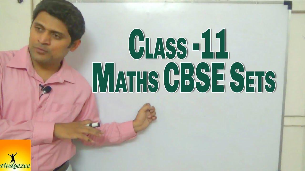Class 11 XI Maths CBSE Sets Part 1