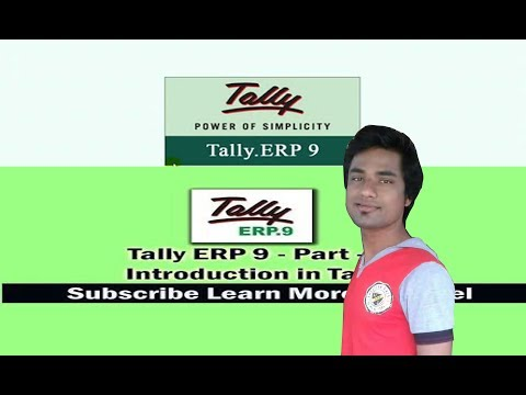 What is Tally ERP 9? What is Account? Class For the Beginner. Part 1 (Easy Process)