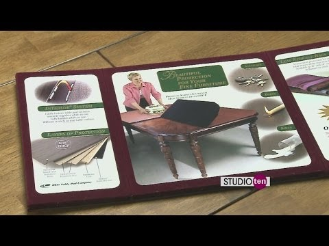 studio10: dining table covers from Barrow Fine Furniture