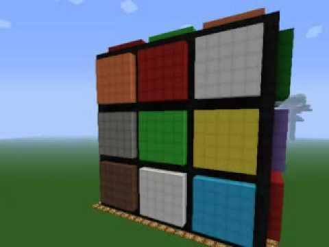 Minecraft cubo de rubik youtube - Jeu de cube comme minecraft ...