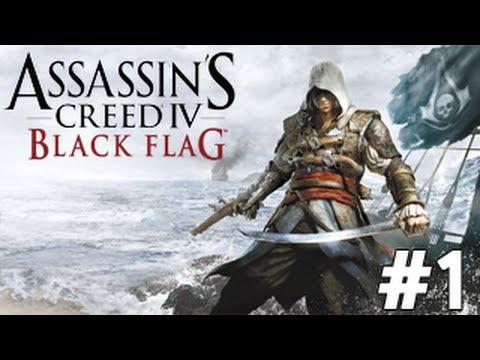 Assassins Creed 4 Black Flag Gameplay Walkthrough Part 1 - Pirates (AC4)