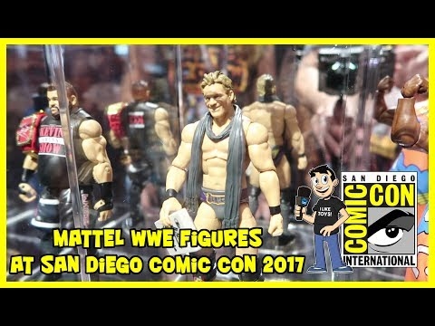 WWE Mattel Action Figure Display at San Diego Comic Con 2017