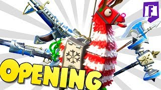winter Lama opening🎄 • Fortnite save the world