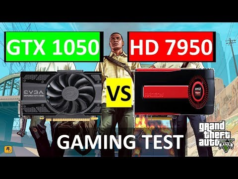 Is The Radeon HD7950 Still A Good Graphics Card ?(VS GTX1050)2018 Gaming Test