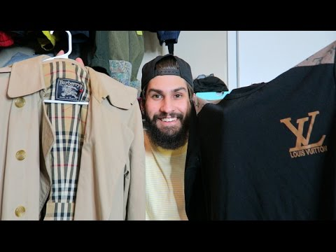 TRIP TO THE THRIFT #23: HOW TO FIND LV, YSL, BURBERRY FOR $10