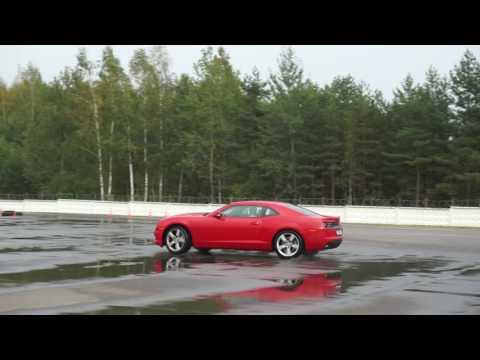 Chevrolet Camaro 2012 drift training