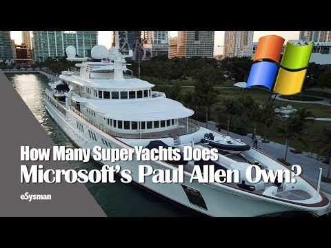 How Many Superyachts Does Microsoft S Paul Allen Own