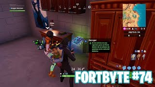 Fortnite Battle Royale ? Fortbyte Challenges How to get the Fortbyte #74