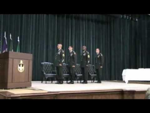 Graduation Ceremony For Civil Affairs & PsyOp Class 0509 Part 1.avi