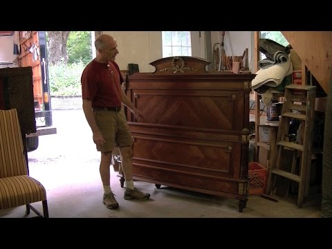 Making New Feet and Rails for an Antique French Bed - Thomas Johnson Antique Furniture Restoration