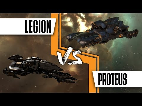 Hunting The Belters: Proteus Vs Legion