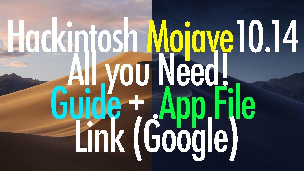ALL YOU NEED! Hackintosh macOS Mojave 10 14 Beta + Download Link by  TechTies Ibrahim