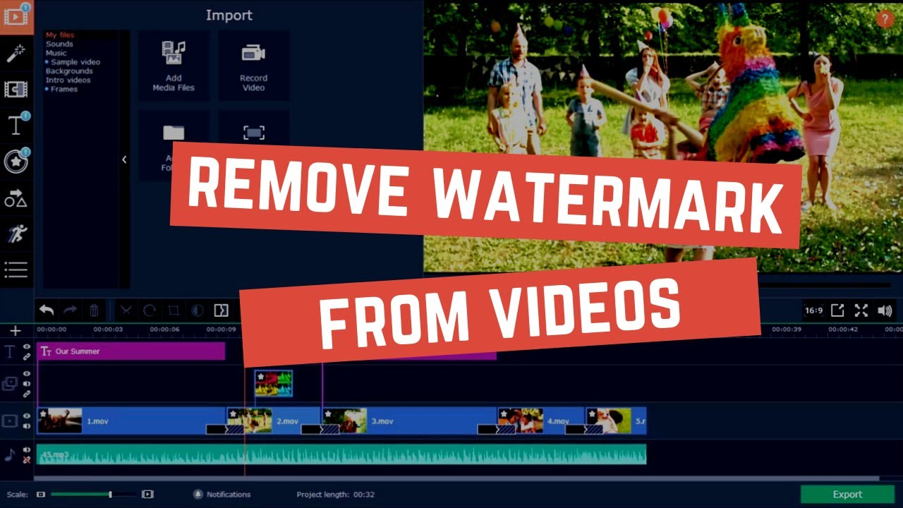 How To Remove Watermark From Video