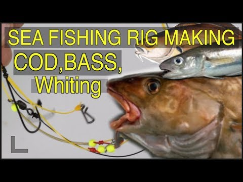 Sea Fishing Rig Guide - My Favourite 2 Hook Cod And Whiting Catcher