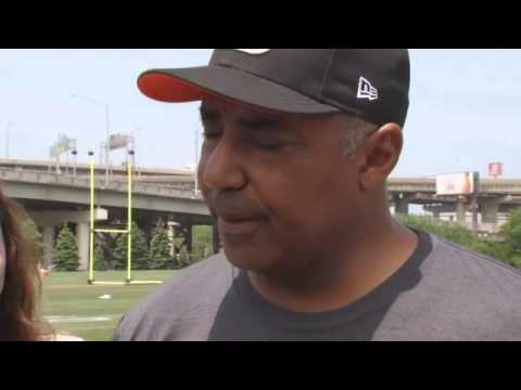 Interview with Marvin Lewis after first Bengals practice - YouTube