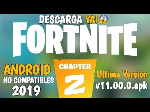 😱Como Instalar Fortnite Capitulo 2 Para Android Ultima Version Para Dispositivos No Compatibles✔️