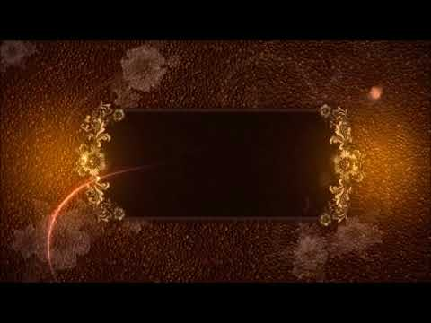 HD Flourish Background Video Animation video AV3 for wedding projects slideshow photography thumbnail