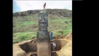 видео Моаи на острове пасхи. Где они стоят