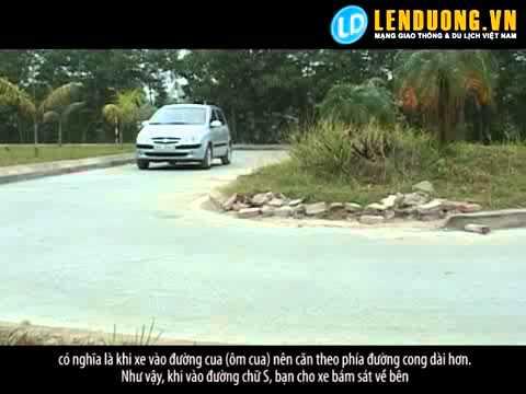 Học lái xe hà nội: Học lái đường vòng quanh co (bài 6)