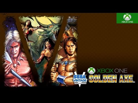 Sega Vintage Collection: Golden Axe Xbox One Backwards Compatible Gameplay HD 1080P