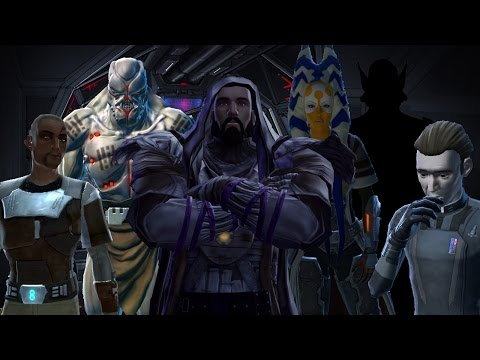 Lets Play Star Wars The Old Republic Sith Inquisitor Episode 21 Crew Chat