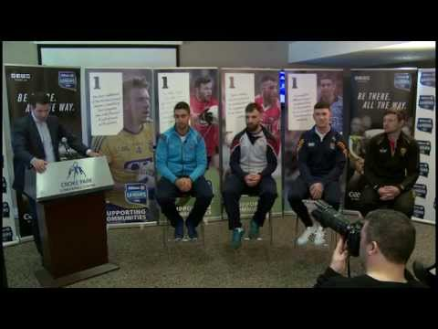 Allianz Leagues Football Final Preview Press Event