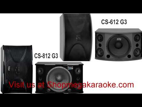 Impro Presents CS-612 G3 and CS-812 G3 Karaoke Vocal Speaker