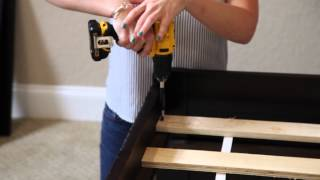 Building An Espresso Captains Day Bed From Factorybunkbeds.com