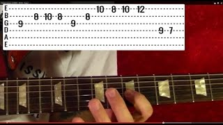 HALO ( VIDEO GAME ) - Guitar Lesson