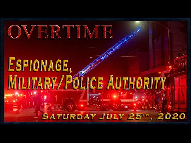 Overtime: Espionage, Military/Police Authority
