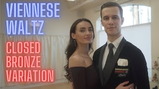 Viennese Waltz Basic Syllabus Closed Bronze Variation by Iaroslav and Liliia Bieliei