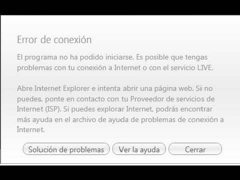 COMO SOLUCIONAR EL ERROR DE CONEXION DE ((GAMES FOR WINDOWS LIVE)) 100% //2015// ¬¬¬WINDOWS 7¬¬