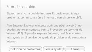 Como Solucionar El Error De Conexion De ((games For Windows Live)) 100%