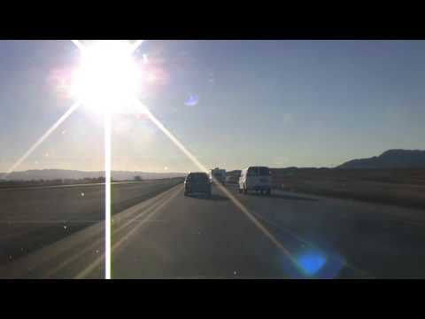 2013-01-04 From Las Vegas NV To Los Angeles CA 16x Timelapse
