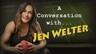 A Conversation with Dr. Jen Welter