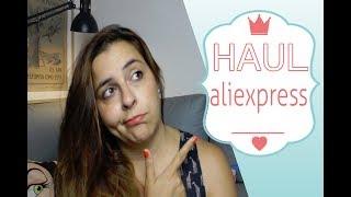 HAUL ALIEXPRESS JUNIO 18   SUPER HAUL RANDOM - COMPRAS VARIADAS   QUIENTELOHADICHO