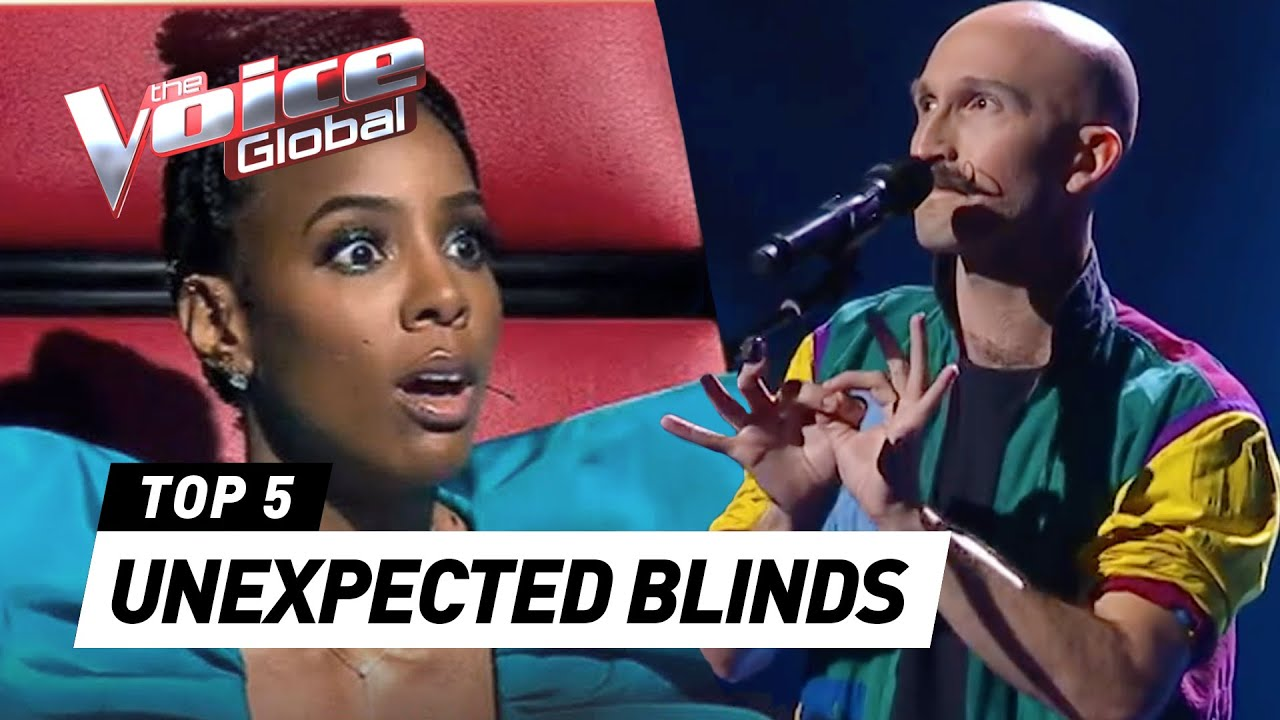 MOST UNEXPECTED AND SHOCKING Blind Auditions in The Voice