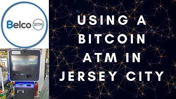 FIRST TIME USING A BITCOIN ATM (Jersey City, NJ) – BTC / LTC / ETH