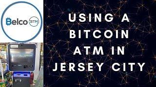 FIRST TIME USING A BITCOIN ATM (Jersey City, NJ) – BTC / LTC / ETH